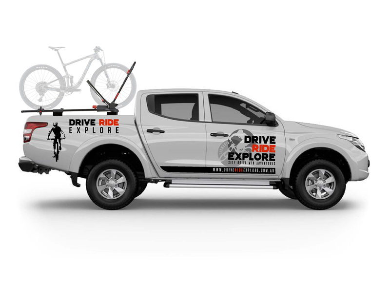 drive ride explore ute hire tasmania