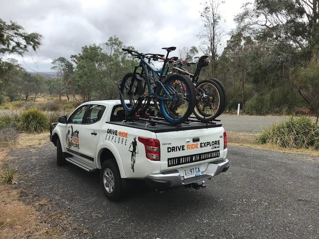 drive ride explore triton ute hire tasmania